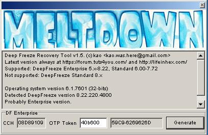 Meltdown v1.5
