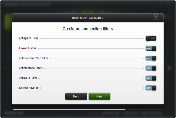 bitdefender 2013 settings