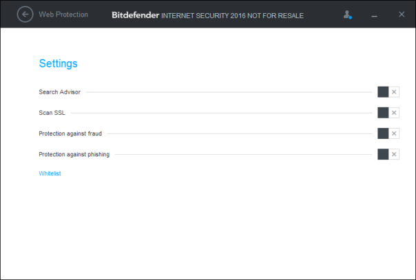 bitdefender 2016 settings