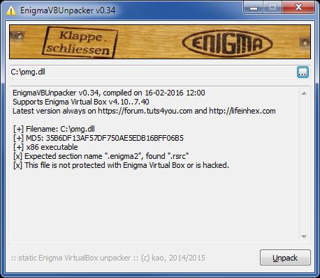 EnigmaVBUnpacker_v034