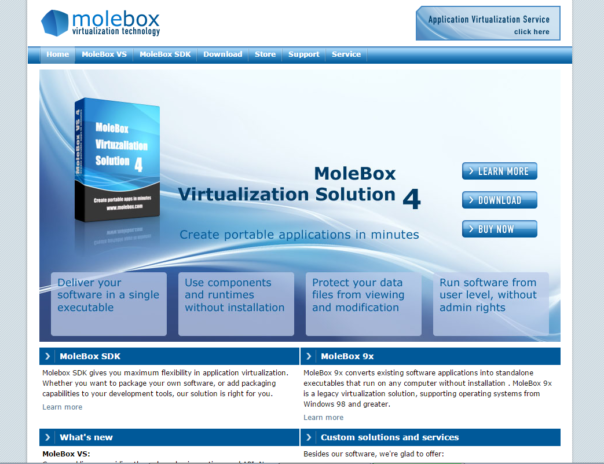 Molebox as it used to be